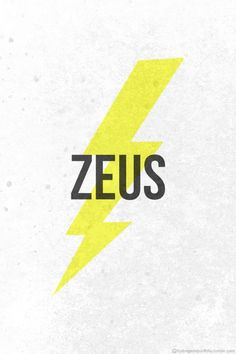 Zeus Lighting Bolt From Percy Jackson