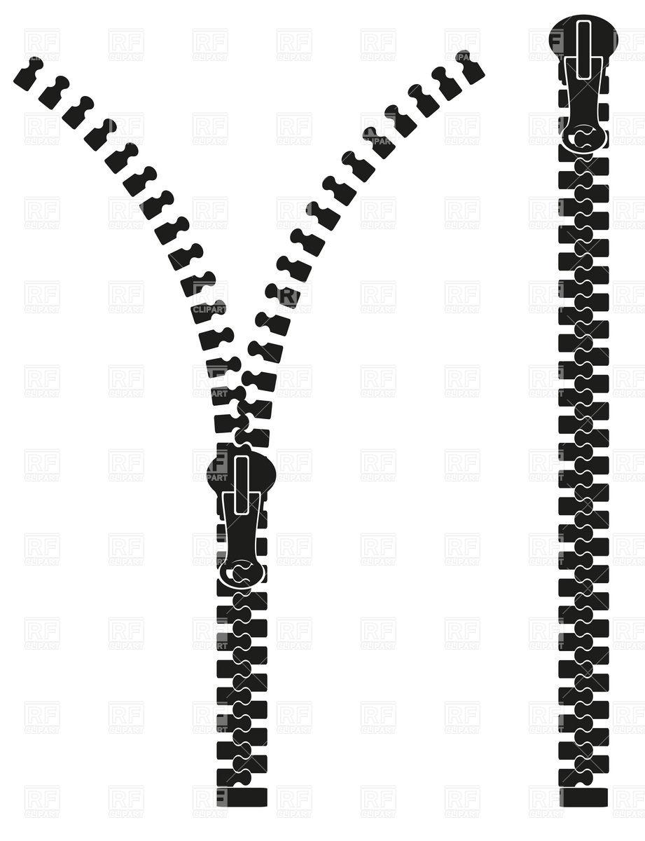 Vector Drawing Lines Zip : Zipper clipart panda free images