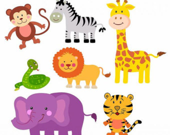 It is a photo of Slobbery Free Printable Jungle Animals