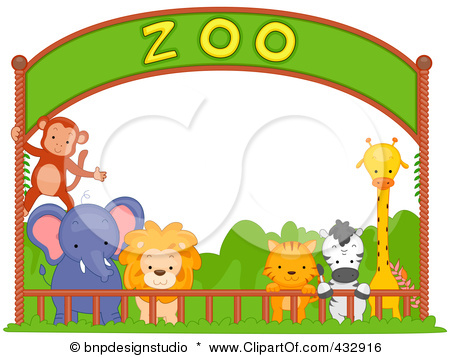 Zoo Drawing For Kids